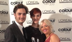 Regional winners at the L'Oreal Colour Trophy