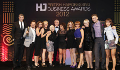 BHBA Winner of  Salon of the Year 1