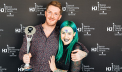 BHA Wales and Southwest Hairdresser of the year
