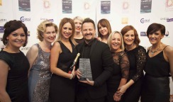 Winners of Best Hair Salon- Cardiff Life Awards