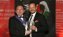 Ken Wins the NHF Wales Hall of Fame Award