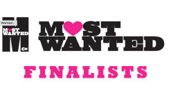 Most Wanted Finalists announced - we're in!