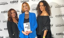 WINNERS! KEN PICTON SALON NAMED BEST IN REGION AT THE L'OREAL COLOUR TROPHY SEMI FINALS