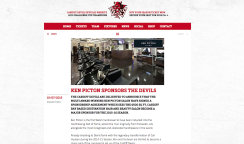 KEN PICTON SPONSORS THE CARDIFF DEVILS