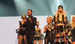 Dafydd Showcases At Hair Expo Gala in Sydney