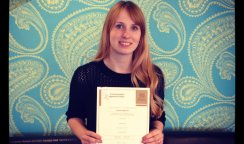 Jo Gets Her Level 3 Hairdressing Diploma