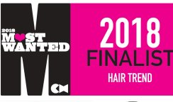 Finalists for Most Wanted Hair Trend Award!