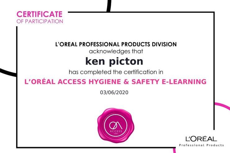 Salon Hygiene Certification – We've Got It!