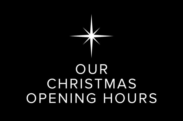 Ken Picton 2020 Christmas Opening Hours