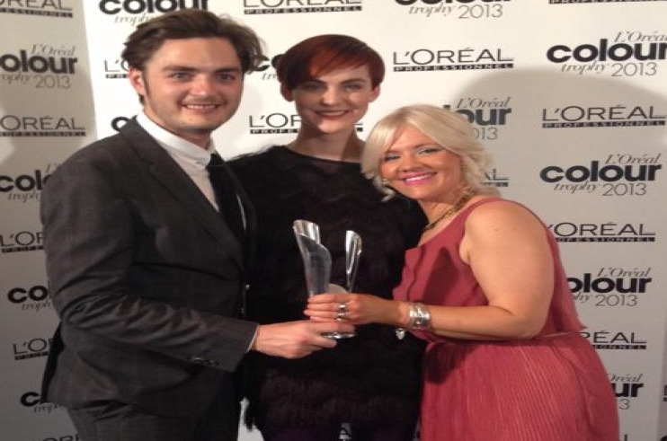 The Ken Picton Salon wins L'Oreal Colour Trophy Regional Final & presents catwalk show