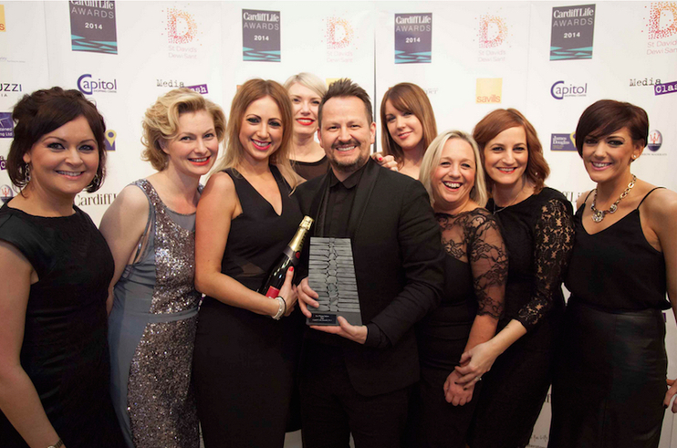 Ken Picton Wins At The Cardiff Life Awards 2014