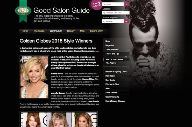 Golden Globes 2015 Style Winners