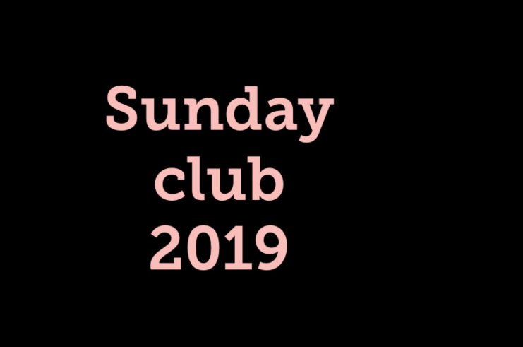 New Sunday Hours for 2019