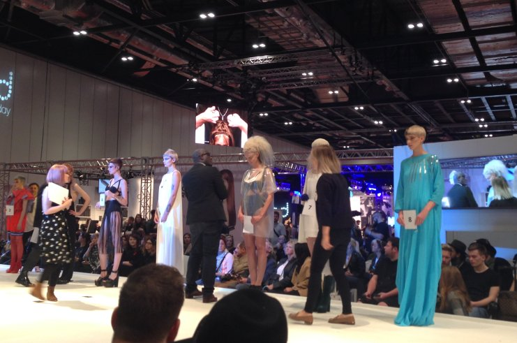 Zoe Makes F.A.M.E Team Finals at Salon International