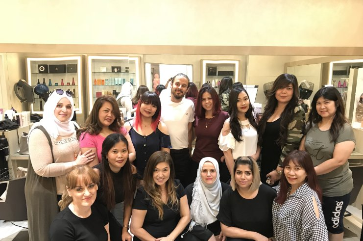 Paul Dennison Teaches Colour Classes in Dubai