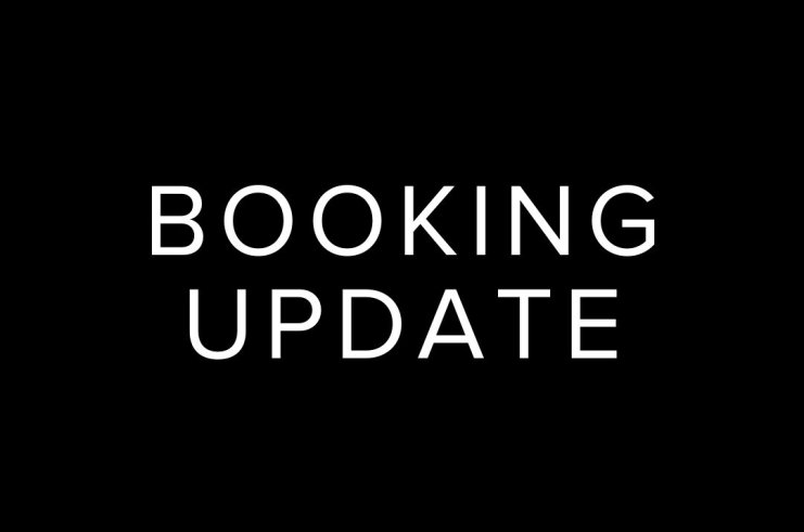 Booking Update - What's Happening Next