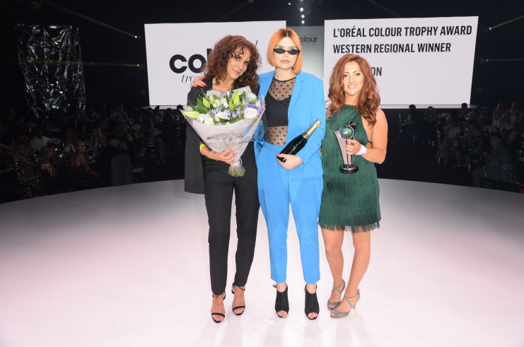 We Did It! Regional Winners at the L'Oreal Colour Trophy