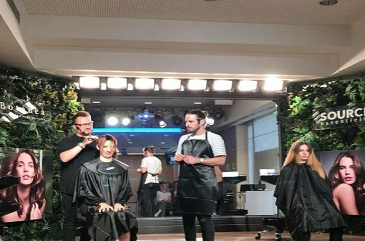 L'Oreal Professionnel workshops in Greece
