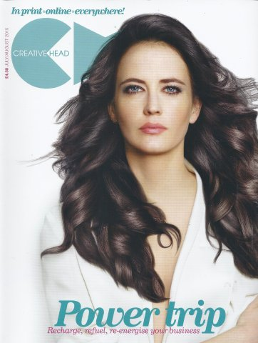 <p>Creative Head Magazine August. Ken features as an ambassador for GHD for the launch f GHD Platinum Stylers (&pound;165)</p>