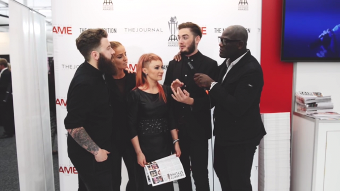 Errol Douglas interviews The UK F.A.M.E Team at Hair Expo 2014