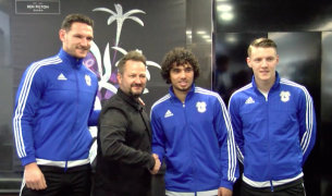 Cardiff City FC In Salon